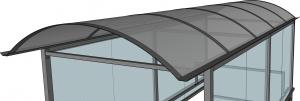dach łukowy