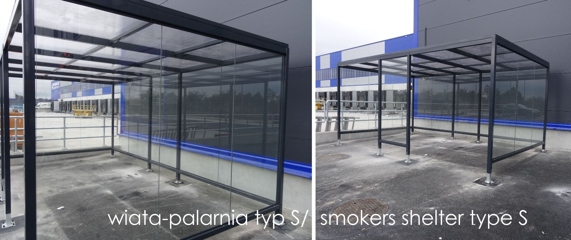 smoker shelter type S