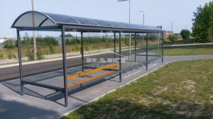 Bus stop + bike shelter type F(pic.10)