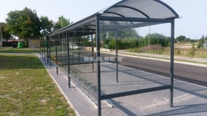 Bus stop + bike shelter type F(pic.11)