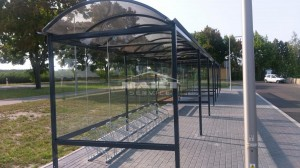 Bus stop + bike shelter type F(pic.12)