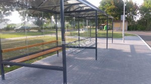 Bus stop + bike shelter type F(pic.13)