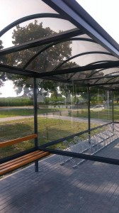 Bus stop + bike shelter type F(pic.14)