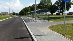 Bus stop + bike shelter type F(pic.4)