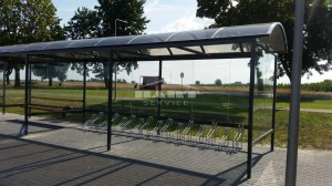 Bus stop + bike shelter type F(pic.5)