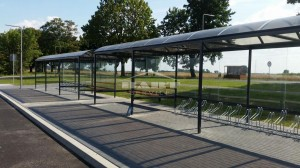Bus stop + bike shelter type F(pic.6)