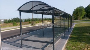 Bus stop + bike shelter type F(pic.8)