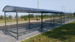 Bus stop + bike shelter type F(pic.9)