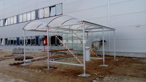 Smoker- bicycle shelter type F (pic.1)