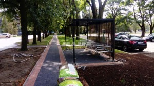 Bike shelter type Green (pic.1)