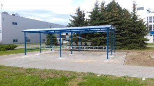 Bike shelter type P (pic.1)