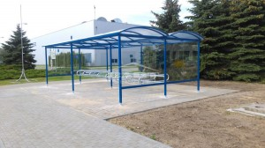 Bike shelter type P (pic.2)