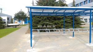 Bike shelter type P (pic.3)