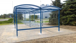Bike shelter type P (pic.4)