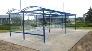 Bike shelter type P (pic.5)